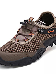 cheap -Men's Comfort Shoes Mesh Summer Casual Athletic Shoes Water Shoes Breathable Gray / Light Blue / Khaki