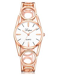 cheap -Women's Dress Watch Wrist Watch Gold Watch Quartz Silver / Rose Gold New Design Casual Watch Analog Fashion Elegant - Silvery / White Rose Gold / White Black / Rose Gold One Year Battery Life