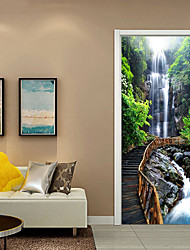 cheap -Decorative Wall Stickers - 3D Wall Stickers Still Life / Floral / Botanical Living Room / Study Room / Office