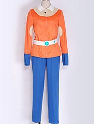 preiswerte -Inspiriert von Inazuma Eleven Schüler / Schuluniform Anime Cosplay Kostüme Japanisch Cosplay Kostüme Solide Top Hosen Mehre Accessoires Für Herrn Damen