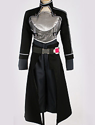 cheap -Inspired by SAO Swords Art Online Kirito Anime Cosplay Costumes Japanese Cosplay Suits Special Design Top / Pants / Gloves For Men's / Women's
