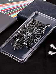 cheap -Case For Apple iPhone XS / iPhone XR / iPhone XS Max Transparent / Pattern Back Cover Animal / Owl Soft TPU