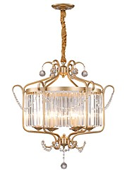 cheap -JLYLITE 6-Light 67 cm Mini Style Chandelier Metal Candle-style Electroplated Traditional / Classic / Country 110-120V / 220-240V