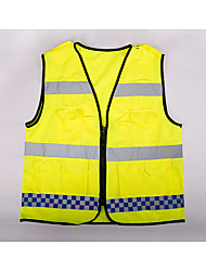 cheap -Safety Clothing for Workplace Safety Supplies Emergency Signal Grate Multiple Pocket Reflective Vest