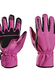 cheap -Full Finger Men's Motorcycle Gloves Microfiber / Flannel / Silica Gel Keep Warm / Wearproof / Non Slip