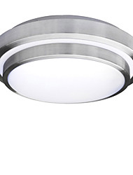 cheap -1-Light 35 cm Eye Protection / WIFI Control Flush Mount Lights Plastic Chic & Modern AC110-240V