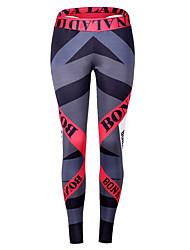 cheap -Women's High Waist Yoga Pants Patchwork Leggings Butt Lift White / Black Rose Pink / Blue Shrimp Pink Zumba Gym Workout Workout Sports Activewear High Elasticity Slim