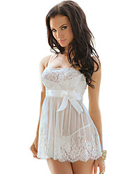 cheap -Terylene Robes Wedding Non-personalized Lace