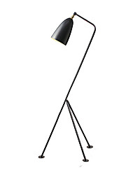 cheap -Globe Electric Modern Contemporary Mini Style Floor Lamp Antique Brass Finish with Switch