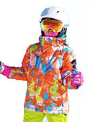cheap -MARSNOW® Boys' Girls' Ski Jacket Winter Sports Thermal / Warm Windproof Breathability Other Softshell Jacket Ski Wear