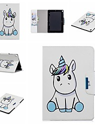 cheap -Case For Apple iPad Mini 5 / iPad New Air(2019) / iPad Air Wallet / Shockproof / with Stand Full Body Cases Unicorn / Cartoon Hard PU Leather / iPad Pro 10.5 / iPad (2017)