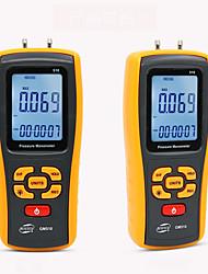 cheap -Portable Digital LCD display Pressure manometer GM510 Max Pressure 50KPa differential manometer pressure gauge