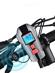 Недорогие -Светодиодная лампа Велосипедные фары Передняя фара для велосипеда Велосипедный рог Велоспорт Велоспорт Водонепроницаемый Супер яркий Осторожно! Быстросъемный USB 1000 lm Перезаряжаемый USB Белый