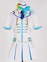 cheap -Inspired by Love Live Cosplay Anime Cosplay Costumes Japanese Cosplay Suits Art Deco Skirt / More Accessories / Cap For Men's / Women's