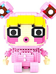 cheap -Building Blocks Construction Set Toys Educational Toy 1 pcs Creative compatible Legoing Geometric Pattern Compact Design Hand-made All Boys' Girls' Toy Gift