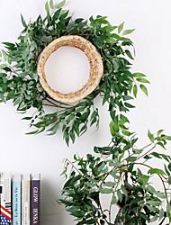 cheap -Artificial Plants Fabric Stylish Wall Flower 1