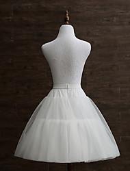 abordables -Mariage / Soirée / Fête Déshabillés Polyester Longueur de robe Jupons amincissants / Long avec Plissé