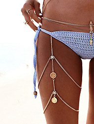 cheap -Women's Metallic Alloy Daily Bikini