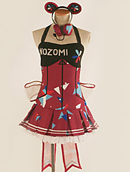 cheap -Inspired by Love Live Cosplay Anime Cosplay Costumes Japanese Cosplay Suits Pattern / Simple / Slim Dress / Gloves / More Accessories For Men's / Women's
