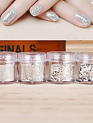 cheap -1 pcs Multi Function Eco-friendly Material Sequins For Creative nail art Manicure Pedicure Daily Trendy / Fashion