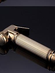 cheap -Bidet Faucet BrassToilet Handheld bidet Sprayer Self-Cleaning Contemporary