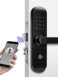 cheap -PINEWORLD Q202 Aluminium alloy lock / Password lock / Fingerprint Lock Smart Home Security iOS / Android System Sound adjustable / Fingerprint unlocking / Password unlocking Household / Home / Home