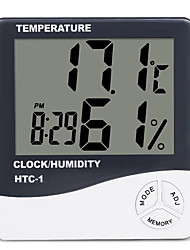 cheap -HTC-1 LCD Digital Thermometer Hygrometer Indoor Electronic Humidity Monitor