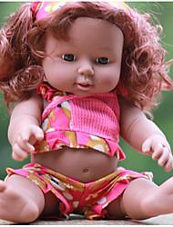 cheap -KIDDING Reborn Doll Girl Doll Baby Boy Baby Girl African Doll 12 inch Full Body Silicone Silicone Vinyl - lifelike Handmade Cute Kids / Teen Kid's Unisex Toy Gift