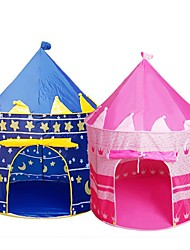 cheap -Play Tent & Tunnel Playhouse Tent Castle Princess Star Foldable Convenient Lovely Polyester Poly / Cotton Blend Indoor Outdoor Spring Summer Fall Pop Up Indoor/Outdoor Playhouse for Boys and Girls