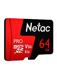 cheap -Netac P500 Pro Micro SD Card 64GB Class 10 UHS 1 U3 V30 Memory Card 256GB Flash Microsd TF Card