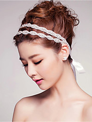 cheap -Crystal Hair Accessory with Ribbons / Crystal / Rhinestone 1 pc Wedding / Special Occasion Headpiece