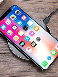 cheap -Wireless Charger USB Charger USB Wireless Charger / Qi 1 USB Port 1 A DC 5V for iPhone X / iPhone 8 Plus / iPhone 8