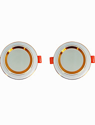 cheap -2pcs 5 W 360 lm 20 LED Beads Easy Install Recessed LED Downlights Warm White Cold White 220-240 V Ceiling Home / Office Living Room / Dining Room / CE Certified