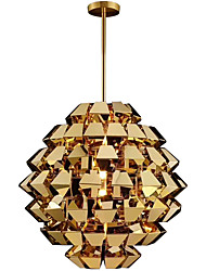 cheap -ZHISHU Sputnik / Geometrical / Novelty Pendant Light Ambient Light Electroplated Painted Finishes Metal Mini Style, Creative 110-120V / 220-240V