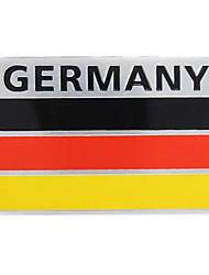 Недорогие -пара 3d алюминий германия флаг значок эмблема наклейка автомобиля деколь украшения