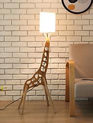 Недорогие -ywxlight® giraffe напольный светильник творческий мультфильм форма животного простой милый дети детский сад гостиная спальня в сборе деревянная вертикальная лампа