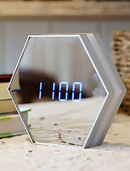 cheap -Alarm clock Digital Glass LED 1 pcs