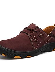 cheap -Men's Running Shoes Sneakers Lightweight Comfortable Running Jogging Autumn / Fall Winter Burgundy Grey Khaki