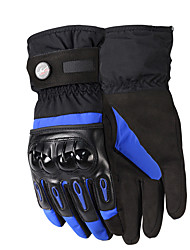 cheap -Full Finger Men's / Women's Motorcycle Gloves Sponge / Microfiber / Plush Keep Warm / Wearproof / Non Slip