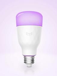 Недорогие -YEELIGHT 1шт 10 W Умная LED лампа 800 lm E26 / E27 1 Светодиодные бусины Контроль APP Smart Диммируемая Multi-цветы 100-240 V