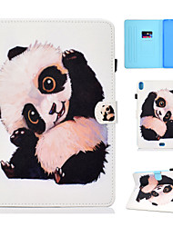 cheap -Case For Apple iPad New Air(2019) / iPad Air / iPad 4/3/2 Card Holder / with Stand / Flip Full Body Cases Animal / Panda Hard PU Leather / iPad Pro 10.5 / iPad (2017)