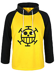 cheap -Inspired by One Piece Trafalgar Law Anime Cosplay Costumes Japanese Cosplay Hoodies N / A Hoodie For Unisex