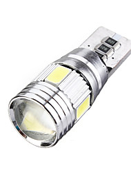 cheap -10/30/50PCS T10 501 194 W5W 5630 LED 6 SMD Canbus Error Free Car Side Wedge Light