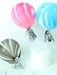 cheap -Cake Topper Classic Theme / Holiday / Wedding Artistic / Retro / Unique Design Emulsion Party / Birthday with Splicing 1 pcs OPP