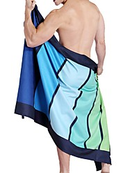 cheap -Superior Quality Bath Towel, Geometric Polyester / Cotton Blend 1 pcs