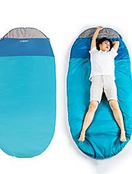 Недорогие -Спальный мешок на открытом воздухе Походы Oval Shape 15-25 °C T / C хлопок Компактность Легкость С защитой от ветра Дышащий Дожденепроницаемый Дружественная кожа 230*100 cm Весна Лето для / 1300