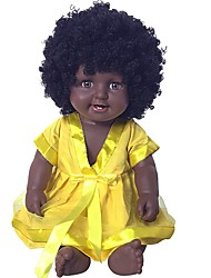 cheap -Reborn Doll Girl Doll Baby Girl African Doll 20 inch lifelike Cute Kids / Teen Kid's Unisex Toy Gift