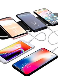 cheap -Wireless Charger USB Charger Universal QC 3.0 2 USB Ports 5 A DC 24V for iPhone X / iPhone 8 Plus / iPhone 8