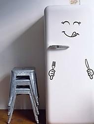 Недорогие -Геометрия Наклейки Простые наклейки Наклейки для туалета, Винил Украшение дома Наклейка на стену Стена / Холодильник Украшение 1шт