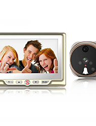 cheap -Factory OEM Wired Built in out Speaker 4.3 inch Hands-free One to One video doorphone